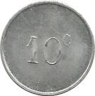 10 Centimes (La Rochelle) – reverse