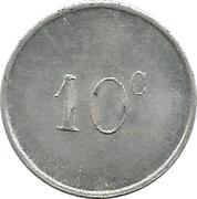 10 Centimes (La Rochelle) -  reverse