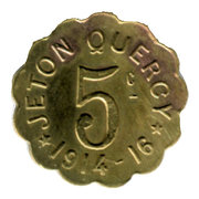5 Centimes (Quercy) – obverse