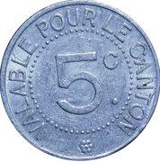 5 Centimes (Saint André de l'Eure) – reverse
