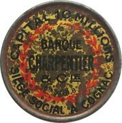 10 Centimes (Banque Charpentier & Cie) – obverse
