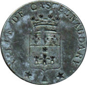 10 Centimes (Castelnaudary) – obverse