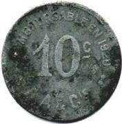 10 Centimes (Cette) – reverse