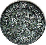 5 Centimes - Chambres de Commerce (de l'Herault) – reverse