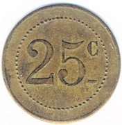 25 Centimes (Orangerie E.Clément; Strasbourg) – reverse
