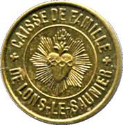 5 Centimes - Caisse de Famille - Lons-le-Saulnier [39] – obverse