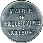 5 Centimes - Mairie de Laroque d'Olmes - Ariége [09] – obverse