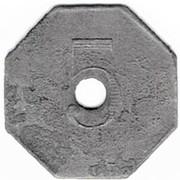 5 centimes Fourneau Economique TOUL (54) – reverse