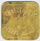 1 Franc Châlet du Lac - SAINT-MANDE (94) – obverse