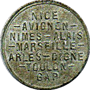 5 Centimes (Provence Region) – obverse