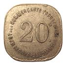 20 Centimes (Joinville-le-Pont) – reverse