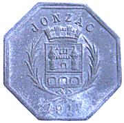 10 Centimes (Jonzac) – obverse