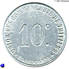 10 Centimes (Thiviers) – obverse