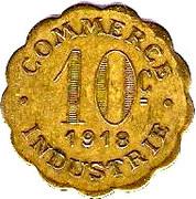 10 Centimes (Chatou) – reverse