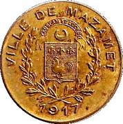 10 Centimes (Mazamet) – obverse