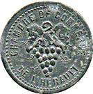 10 Centimes Chambre de Commerce de l'Herault 34 – obverse