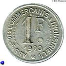 1 Franc (Maisons-Lafitte) – reverse