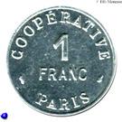 1 Franc (Paris Emergency Coinage) – obverse
