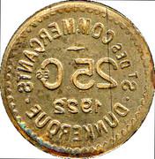 25 Centimes (Dunkerque) – obverse