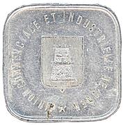 25 Centimes (Caen) – obverse