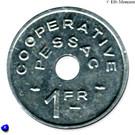 1 Franc (Pessac Emergency Coinage) – obverse