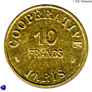 10 Francs (Emergency Coinage) – obverse