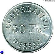 50 Francs (Pessac Emergency Coinage) – reverse