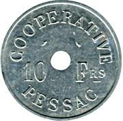 10 Francs (Pessac Emergency Coinage) – obverse