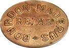 2 Francs (Bourdon-Majerus Reims) – obverse