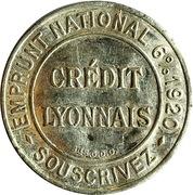 5 Centimes (Crédit lyonnais) – obverse