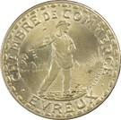 1 Franc (Evreux) – obverse