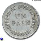 1 Pain - Bureau de Bienfaisance (Roubaix) – reverse
