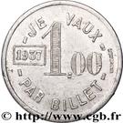 1 Franc - Aulnay-Palace (Aulnay-sous-Bois) – reverse
