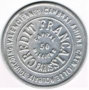 25 Centimes - Crédit Français – obverse