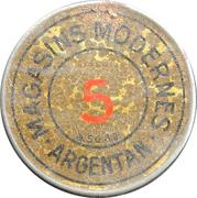 5 Centimes - Argentan – obverse