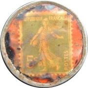 5 Centimes - Argentan – reverse