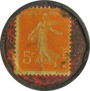 5 Centimes - Cresca – reverse