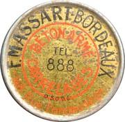 5 Centimes - F. Massart - Béton armé carrelage – obverse