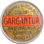 5 Centimes - Gargantua – obverse