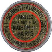 5 Centimes - Maison de Paris – obverse