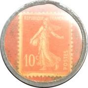 10 Centimes - Chocolat François – reverse