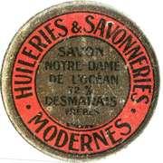 10 Centimes - Huileries & Savonneries Modernes – obverse