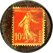 10 Centimes - Huileries & Savonneries Modernes – reverse