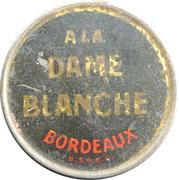 15 Centimes - A la dame blanche – obverse
