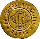 10 Centimes - La Compagnie Caille (Paris) – obverse