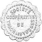 10 Centimes - Société Coopérative de Thaon-les-Vosges – obverse