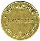 5 Francs - Veilleden (Chantilly) – obverse