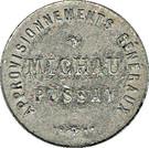 1 Franc -  Approvisionnements Généraux (Pussay) – obverse