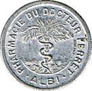 10 Centimes - Pharmacie Docteur Ferret (Albi) – obverse