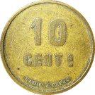 10 Centimes - La Bourguignonne (Dijon) – reverse